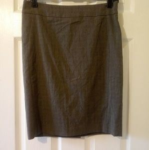 Women's Gray Pencil Skirt Size 0 - The Limited